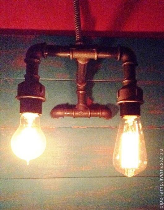 Освещение ручной работы. Ярмарка Мастеров - ручная работа. Купить Бра. Handmade. Темно-серый, светильник ручной работы, лофт