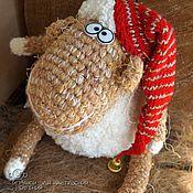 Куклы и игрушки ручной работы. Ярмарка Мастеров - ручная работа Овечка в колпачке. Handmade.