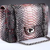 Сумки и аксессуары handmade. Livemaster - original item Women`s Python leather bag IMP0022A19. Handmade.
