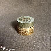 Для дома и интерьера handmade. Livemaster - original item Trinket box Vintage flowers. Handmade.