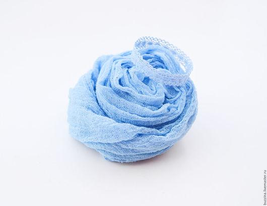 Для новорожденных, ручной работы. Ярмарка Мастеров - ручная работа. Купить Комплект для фотосессии новорожденного Корона + обмотка голубой. Handmade.