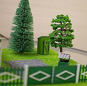 Сувениры и подарки handmade. Livemaster - original item The layout of the outdoor toilet. Handmade.