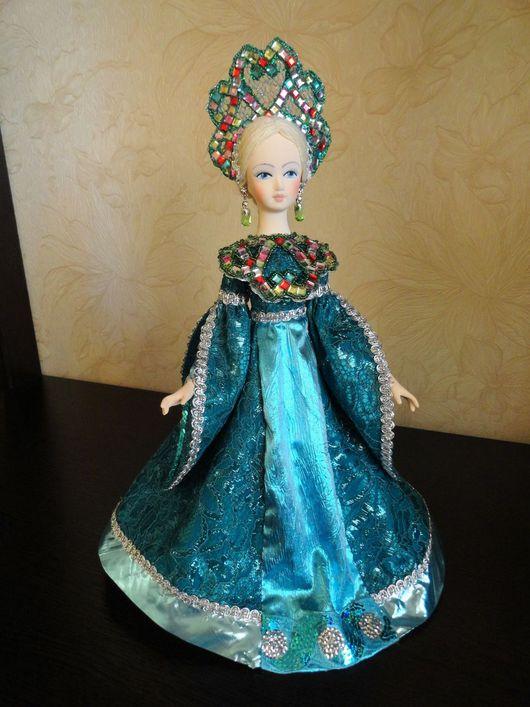 Коллекционные куклы ручной работы. Ярмарка Мастеров - ручная работа. Купить Кукла-шкатулка. Handmade. Комбинированный, интерьерная игрушка, картон