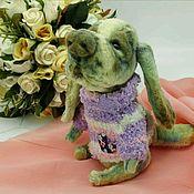 Куклы и игрушки handmade. Livemaster - original item Teddy. Dog toy. Basset romantic. Dog. Handmade.
