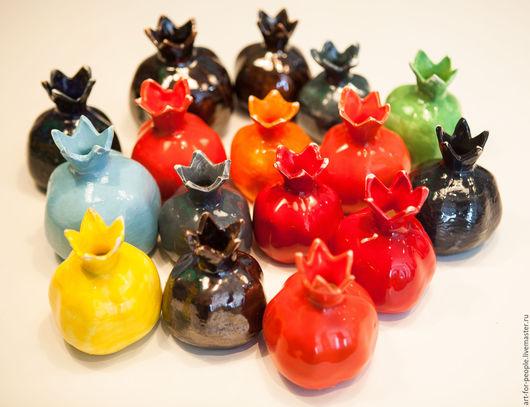 Вазы ручной работы. Ярмарка Мастеров - ручная работа. Купить Гранат (вазочка) насыщенные цвета. Handmade. Ярко-красный
