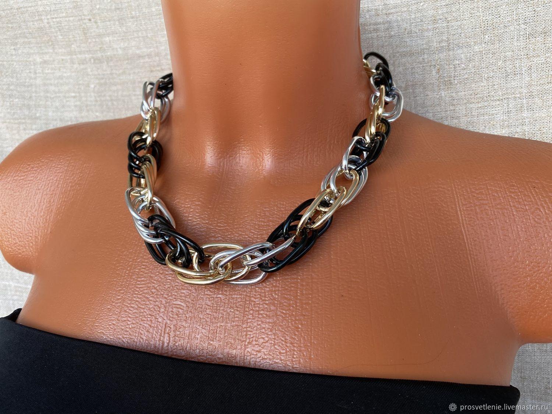 Necklace chain volume modern decoration stylish jewelry boho chains, Chain, Voronezh,  Фото №1