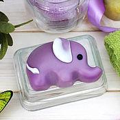 """Мыло ручной работы. Ярмарка Мастеров - ручная работа Мыло """"Слонёнок"""". Handmade."""