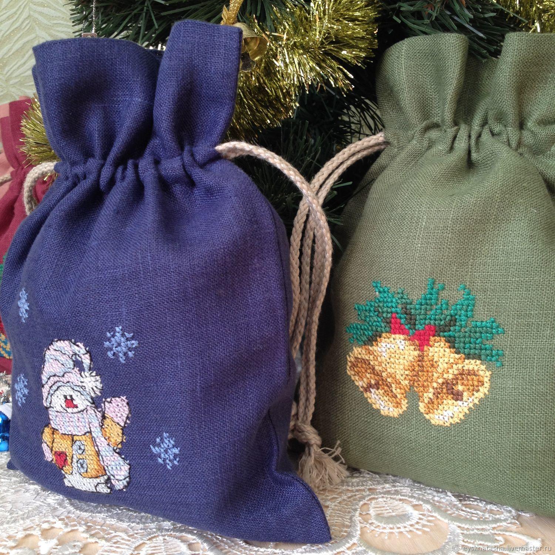 Мешочки для подарков интернет-магазин
