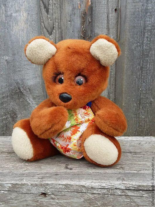 Игрушки животные, ручной работы. Ярмарка Мастеров - ручная работа. Купить Медвежонок. Handmade. Комбинированный, медвежонок, в подарок