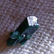 Материалы для творчества handmade. Livemaster - original item Dioptase (single crystals) Brazzaville,Pool(Kinkala), Congo.. Handmade.