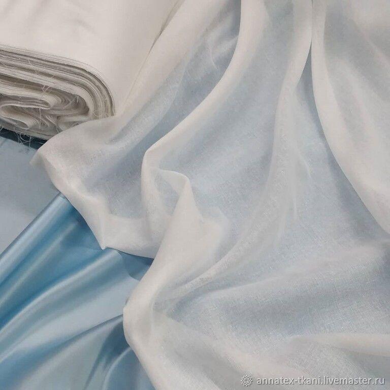 Мадаполам - цвет белый – купить на Ярмарке Мастеров – LGCM0RU | Ткани, Москва
