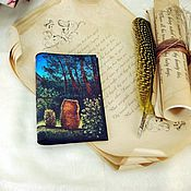 Канцелярские товары ручной работы. Ярмарка Мастеров - ручная работа Обложки на паспорт в ассортименте. Handmade.
