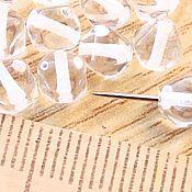 """Материалы для творчества ручной работы. Ярмарка Мастеров - ручная работа Бусины 6.5 стеклянные """"Биконусы прозрачные"""". Handmade."""