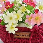 Для дома и интерьера handmade. Livemaster - original item Spring basket. Handmade.