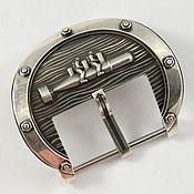 """Часы наручные ручной работы. Ярмарка Мастеров - ручная работа Часовая пряжка (бакля) из серебра """"Диверсанты"""" 24 мм. Handmade."""