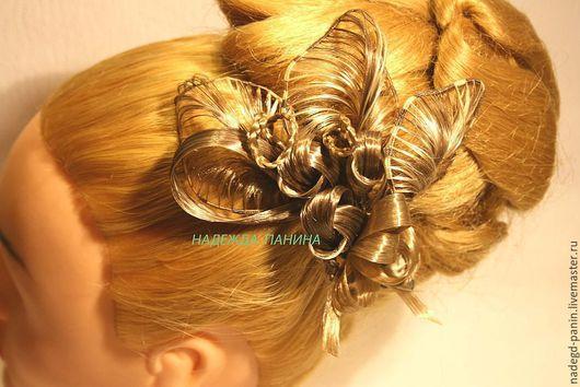 Заколки ручной работы. Ярмарка Мастеров - ручная работа. Купить Заколка для волос,постиж № 4.. Handmade. Заколка для волос