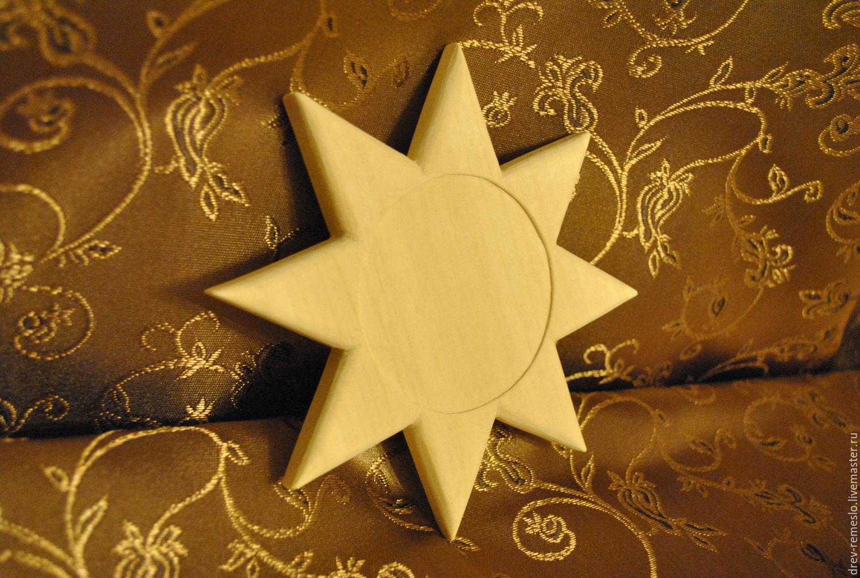 Декупаж и роспись ручной работы. Ярмарка Мастеров - ручная работа. Купить Звезда из дерева. Handmade. Звезда, из дерева, сделано сдушою