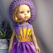 Куклы и игрушки handmade. Livemaster - original item Dress for dolls is made of cotton. Handmade.