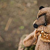 Куклы и игрушки ручной работы. Ярмарка Мастеров - ручная работа Шоколадный Миша. Handmade.