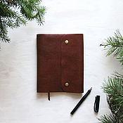 Канцелярские товары handmade. Livemaster - original item Diary leather. Handmade.