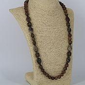 Украшения handmade. Livemaster - original item Beads from natural Jasper stones