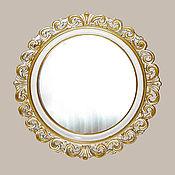 Для дома и интерьера ручной работы. Ярмарка Мастеров - ручная работа Зеркало круглое в венецианской раме. Handmade.