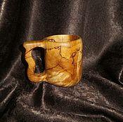 Посуда ручной работы. Ярмарка Мастеров - ручная работа Кружка из капа ( сувели березы). Handmade.