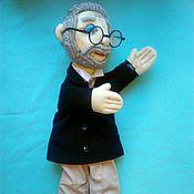 Portrait Doll handmade. Livemaster - original item Portrait glove puppet photo. Handmade.