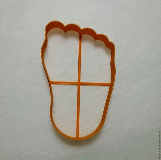 Кухня ручной работы. Ярмарка Мастеров - ручная работа. Купить Ножка - вырубка для печенья, пряников, мастики. Handmade. Комбинированный, след