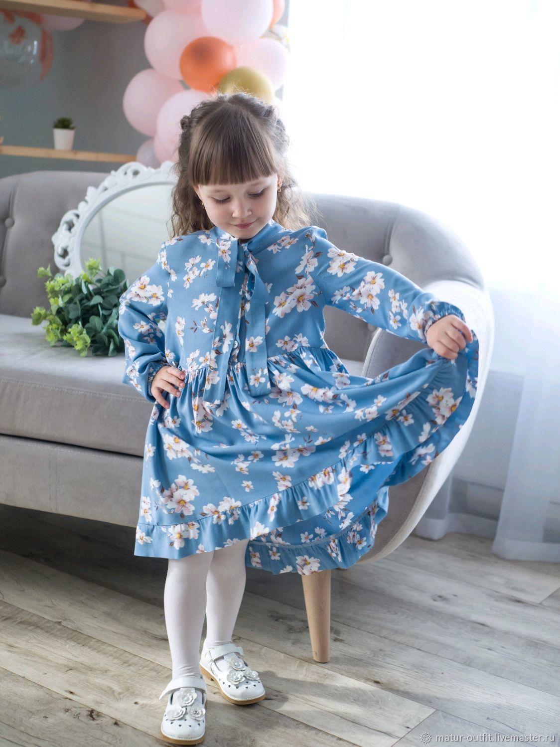 Платье  для  девочки, Платья, Лениногорск,  Фото №1