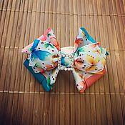Hairpins handmade. Livemaster - original item The bow of REP ribbons