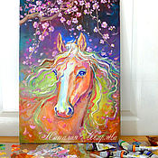 Картины и панно handmade. Livemaster - original item Picture of a horse