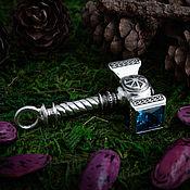 Украшения handmade. Livemaster - original item Amulet Hammer of Svarog with Rotifer. Slavic amulet. bronze silver.. Handmade.