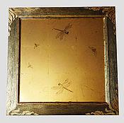 """Для дома и интерьера ручной работы. Ярмарка Мастеров - ручная работа """"Золотая дымка"""". Handmade."""