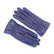 Перчатки из натуральной кожи, утепленные, 80-е