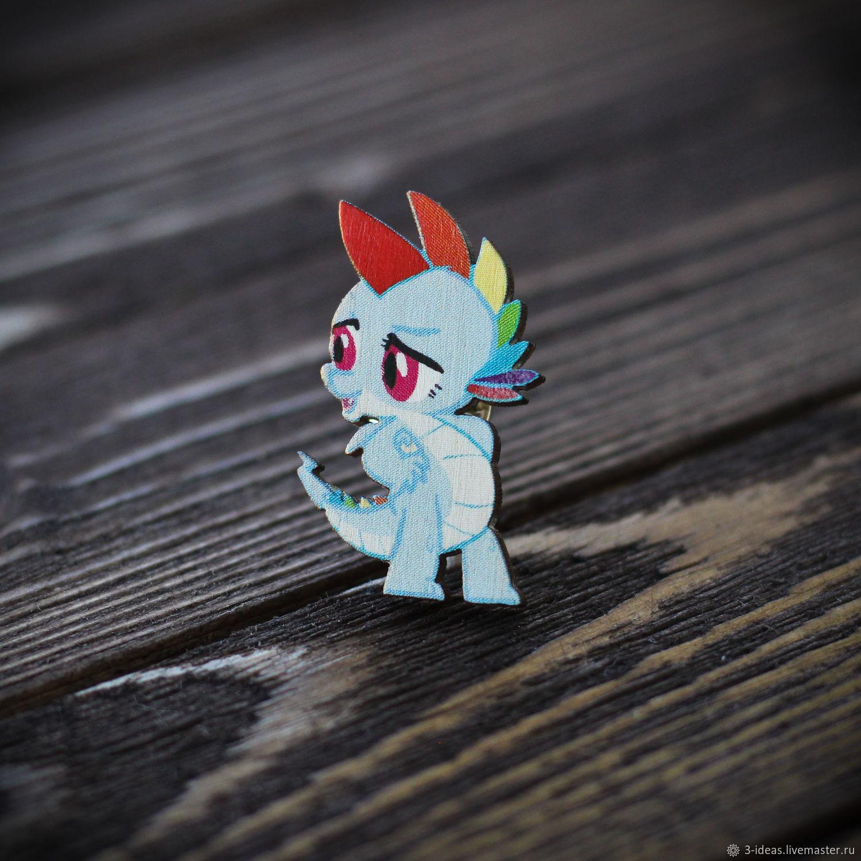 Wooden icon little Pony, Badge, Volzhsky,  Фото №1