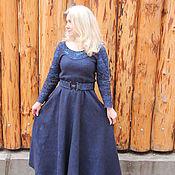 """Одежда ручной работы. Ярмарка Мастеров - ручная работа Валяное платье """"Бездна"""". Handmade."""