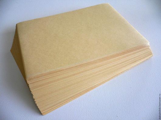 Упаковка ручной работы. Ярмарка Мастеров - ручная работа. Купить Крафт- бумага лист. Handmade. Бежевый, крафт бумага