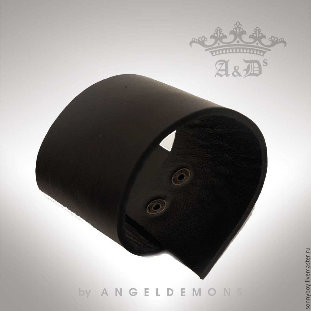 Браслет из кожи - Asymmetrical Antique Bracelet