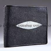 Сумки и аксессуары handmade. Livemaster - original item Wallet leather Stingray IMC0021BW. Handmade.