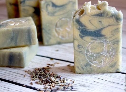 Сливочная Лаванда ароматное натуральное мыло с нуля