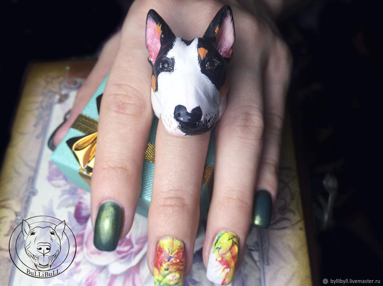 The bull Terrier portrait ring, Rings, Krasnodar,  Фото №1