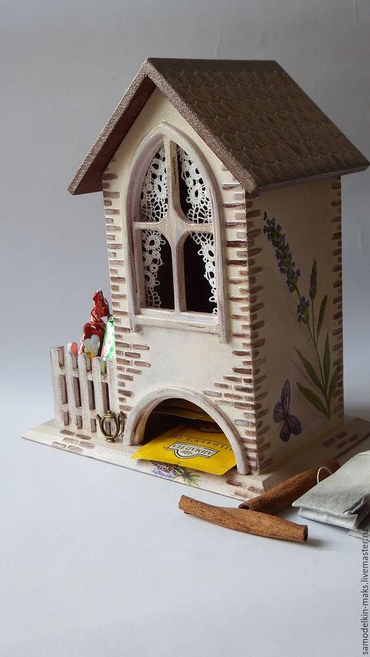 """Кухня ручной работы. Ярмарка Мастеров - ручная работа. Купить Чайный домик """"Лаванда в цвету"""". Handmade. Бежевый, заготовка из фанеры"""