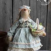 """Куклы и игрушки ручной работы. Ярмарка Мастеров - ручная работа Игрушка интерьерная """"Зайка в мятном"""". Handmade."""