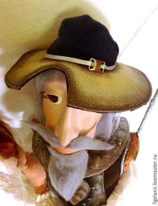 Куклы и игрушки ручной работы. Ярмарка Мастеров - ручная работа. Купить ДОН-КИХОТ  кукла интерьерная. Handmade. Разноцветный