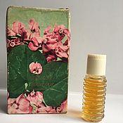 Винтаж handmade. Livemaster - original item Vintage perfume Mountain violet factory Northern Lights USSR vintage. Handmade.