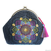 Сумки и аксессуары handmade. Livemaster - original item Women`s handbag on the clasp. Handmade.