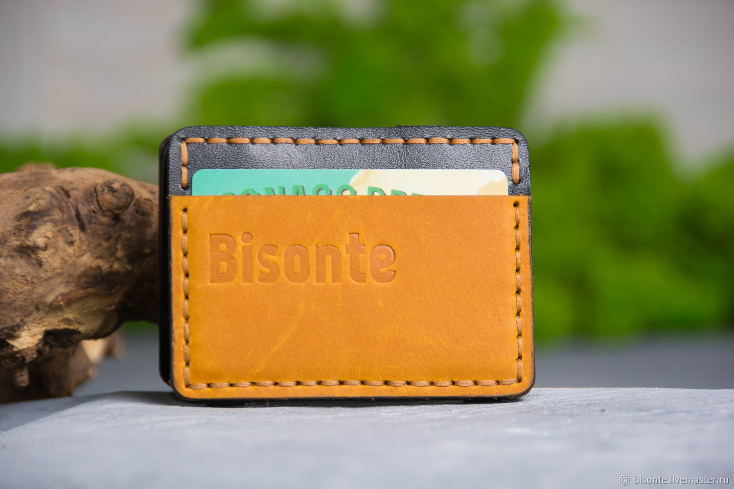 Wallets & Business Card Holders handmade. Livemaster - handmade. Buy Magic cardholder rosso.Leather, orange, wallet, manual