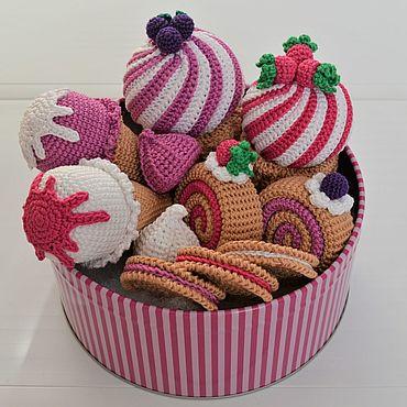 Куклы и игрушки ручной работы. Ярмарка Мастеров - ручная работа Набор сладостей. Handmade.