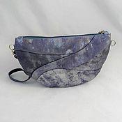 Сумки и аксессуары handmade. Livemaster - original item Cosmetic bag leather Illusion,leather clutch. Handmade.